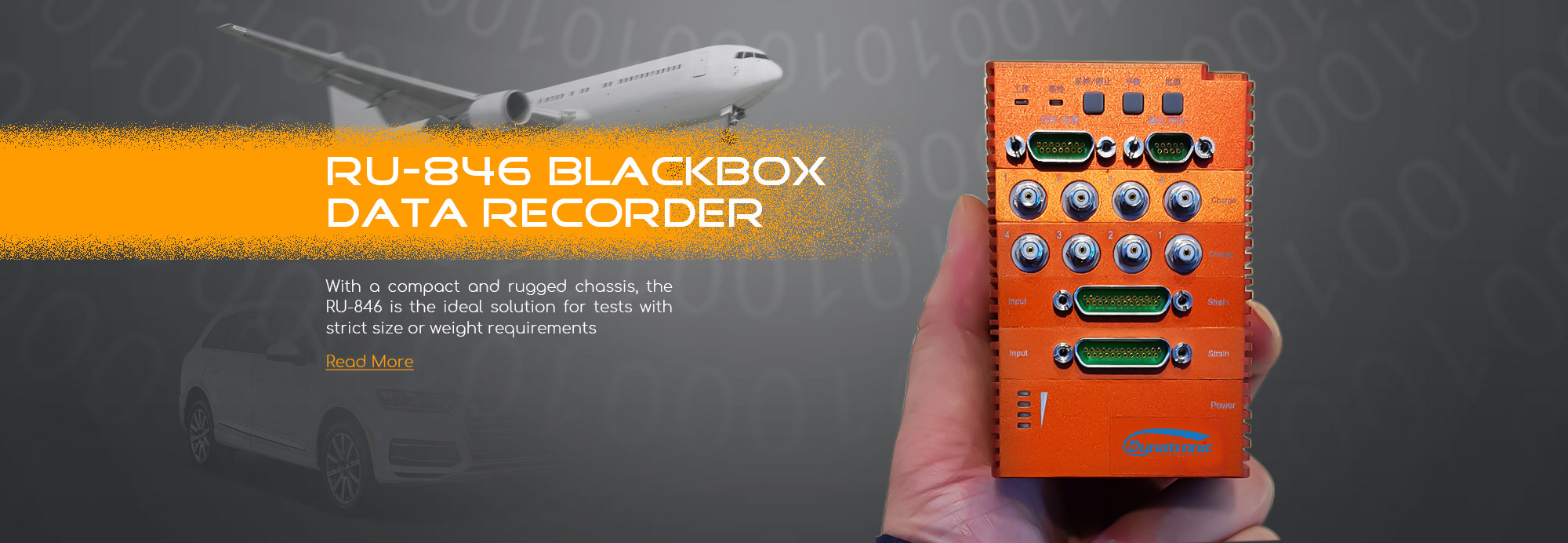 black box data recorder RU-846